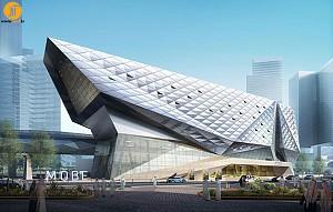 طراحی موزه با کانسپت محیط زیست