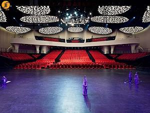 بازسازی طرح داخلی آمفی تئاتر شانگهای