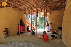 طراحی مدرسه ای برای یتیمان