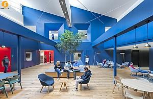 طراحی ساختمان اداری دانشگاه کالیفرنیا