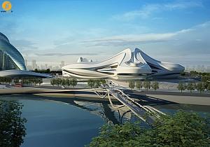 شروع اجرای مرکز فرهنگی چانگشا