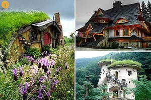 15 خانه رویایی از کتاب ها و فیلم های مشهور