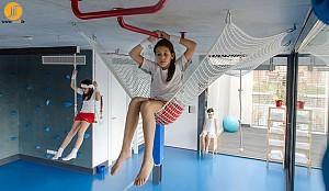 خانه، محلی برای ورزش و تفریح کودکان