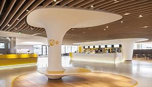 طراحی داخلی سینما با 10 سالن در پاریس