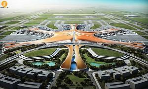 طراحی بزرگترین فرودگاه پکن توسط زاها حدید