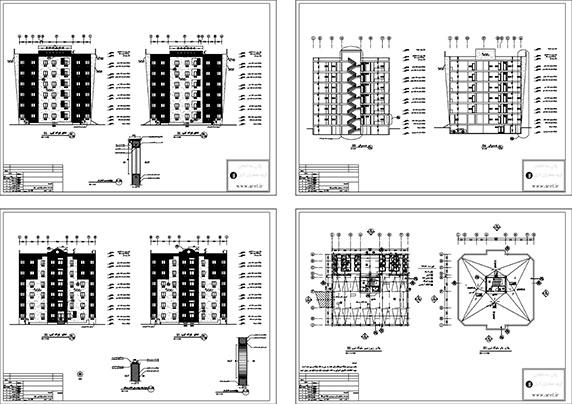 پلان ساختمان،پلان ساختمان فاز 2 شده،دانلود پلان ساختمان فاز 2 شده،دانلود پلان ساختمان