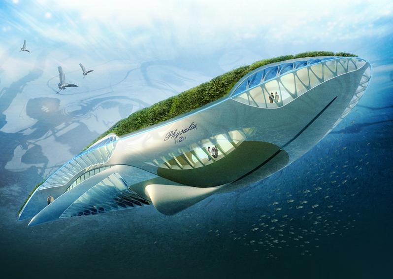 باغ شناور ، پاک سازی هوای دریا