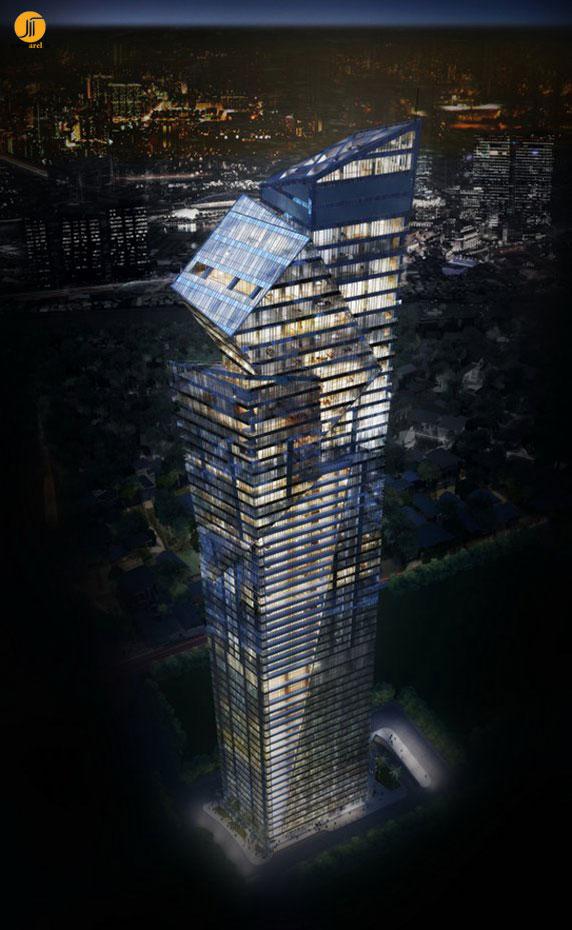 دنیل لیبسکیند،آسمانخراش،معماری،معماری ساختمان