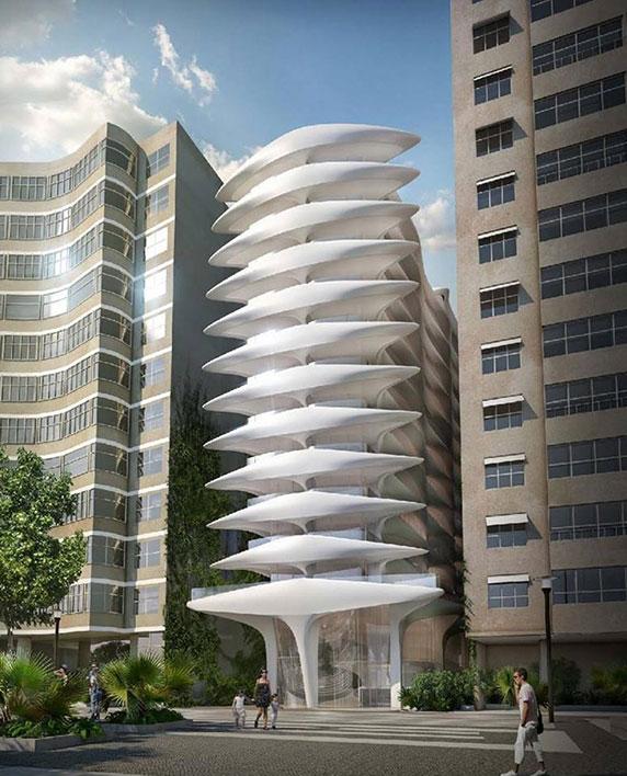 معماری،زاها حدید،معماری آپارتمان،معماری مجتمع آپارتمانی،ساخت آپارتمان