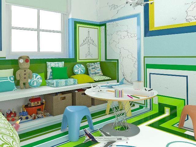 طراحی داخلی اتاق خواب رویایی کودک