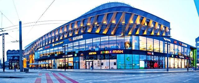 طراحی مرکز خرید Hofgarten
