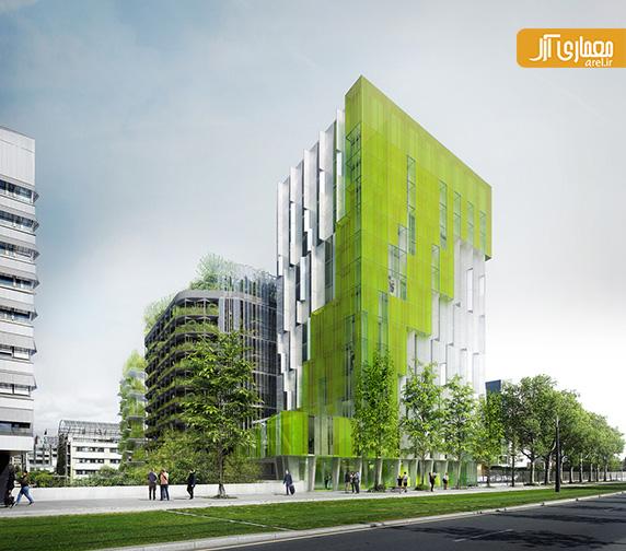 معرفی ساختمان سبز XTU  برنده مسابقه Reinventer.Paris