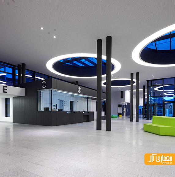 طراحی داخلی بیمارستان،طراحی لابی بیمارستان
