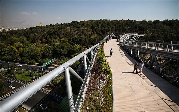 پل طبیعت،لیلا عراقیان،معماری پل طبیعت،سازه پل طبیعت