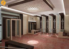 طراحی داخلی موزه ملی، دکوراسیون داخلی دوره اسلامی