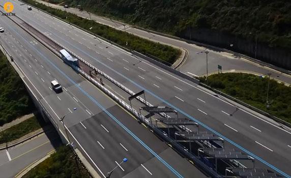 استفاده از پانل های خورشیدی برای پوشاندن مسیر دوچرخه