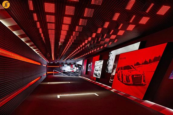 طراحی غرفه آئودی در نمایشگاه فرانکفورت