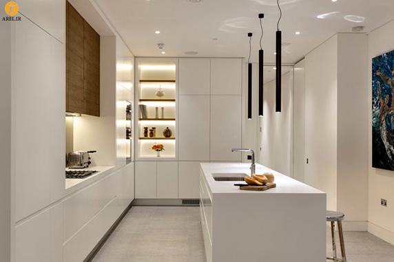 ایده هایی برای استفاده از رنگ سفید در دکوراسیون داخلی آشپزخانه