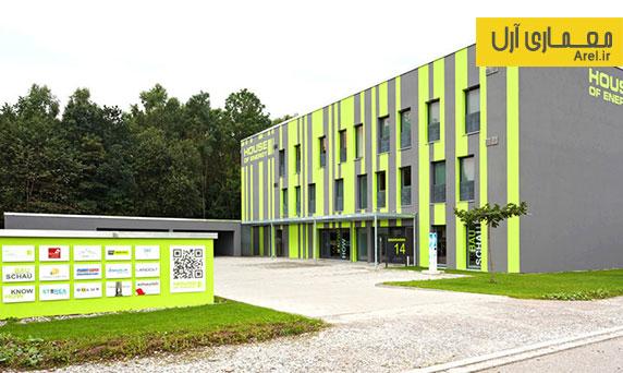 معماری پایدار: طراحی ساختمانی که 2 تا 3 برابر انرژی مورد نیاز خود، انرژی تولید می کند.