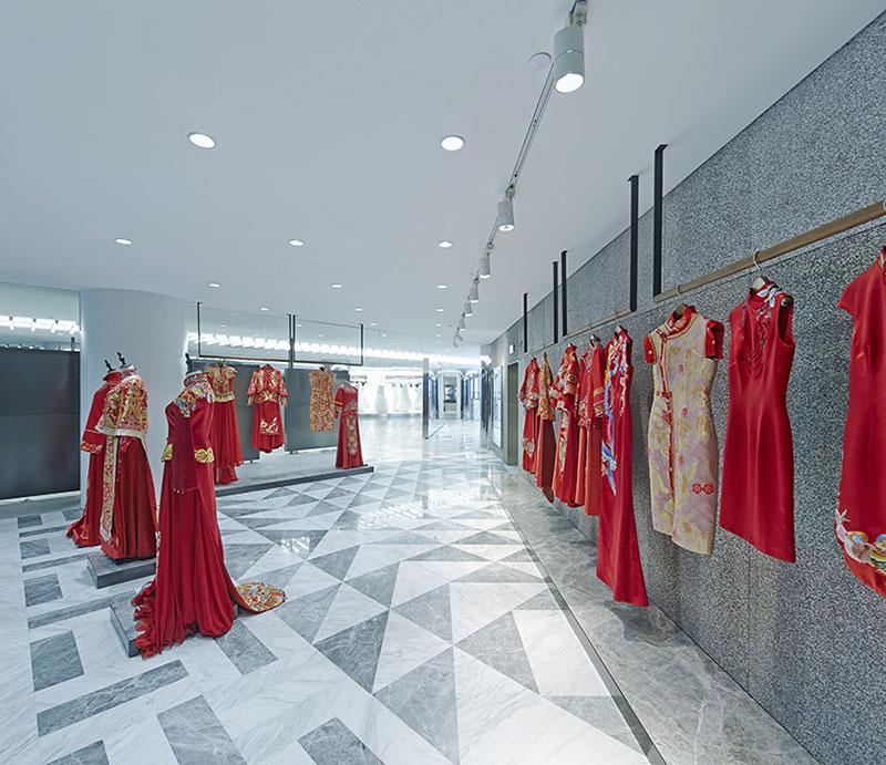 طراحی داخلی مزون عروس
