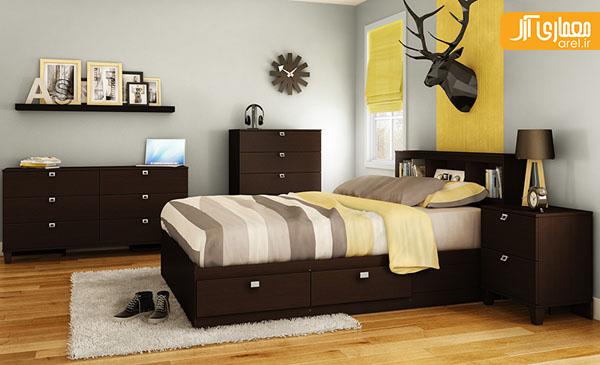 طراحی اتاق خواب مدرن برای کودکان