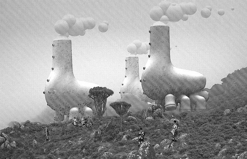 اسکیسی از آینده معماری