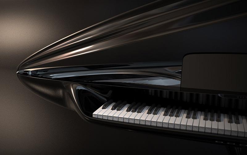 طراحی پیانو صدف