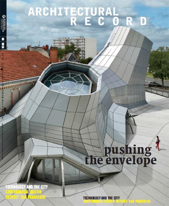 مجله طراحی و معماری- Architectural Record