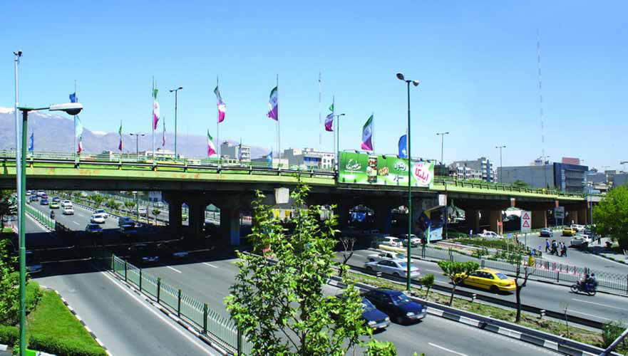 تصاویر کنونی پل میرداماد