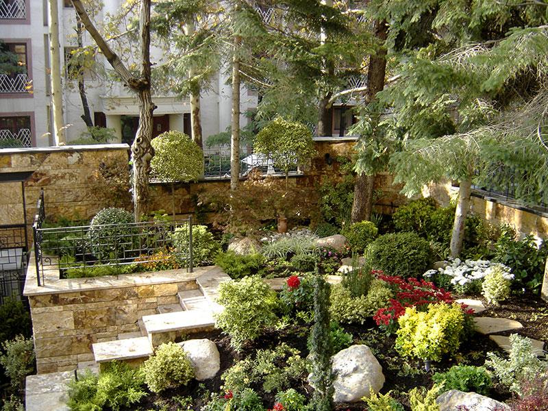 ساختمان مسکونی لاله اقدسیه محمدرضا نیکبخت