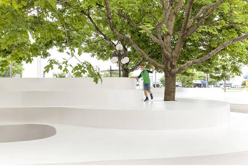 طراحی مبلمان شهری