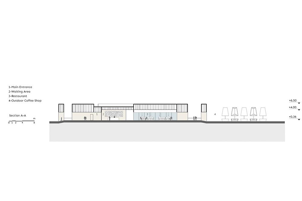طراحی رستوران ساحلی در کیش