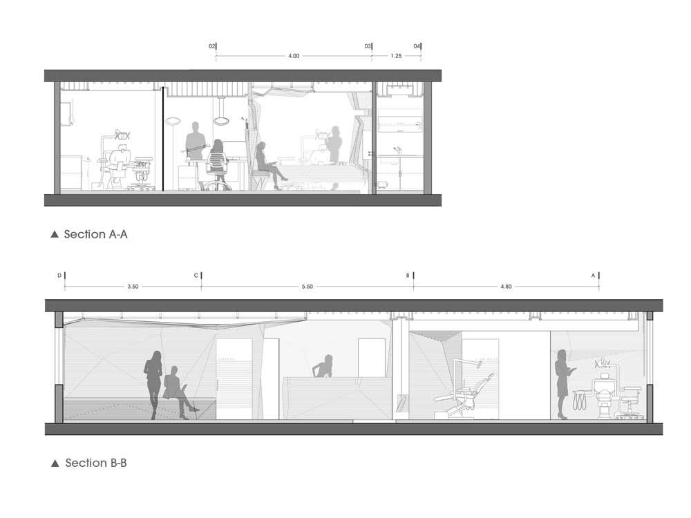 طراحی مطب ٢٥ میلیمتری رضا مفاخر