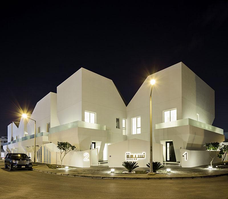 پروژه مجتمع مسکونی نسیمه