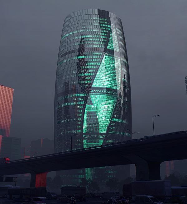 طراحی بزرگترین آتریوم جهان