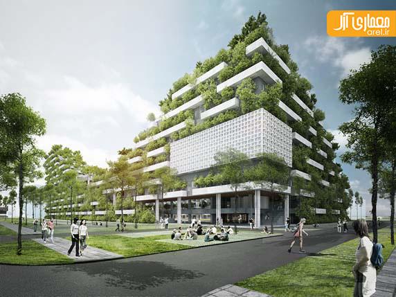 طراحی دانشگاه با معماری سبز