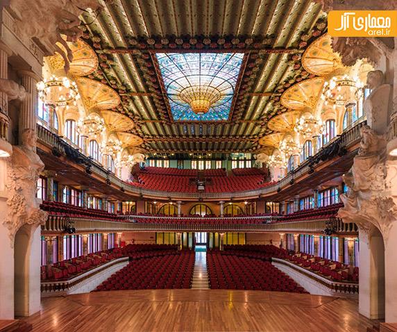 وجه مشترک میان معماری آمفی تئاتر های معروف دنیا