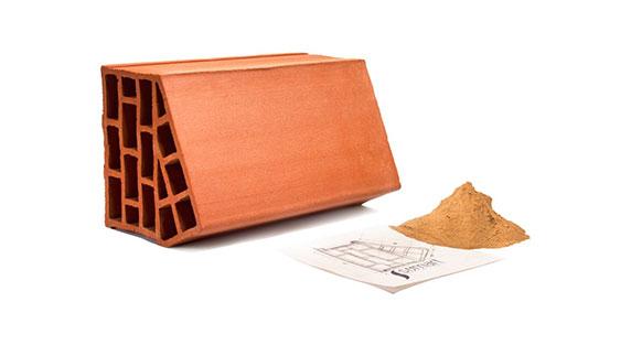 نوآوری در ساخت آجر های سفالی و گردش هوا در ساختمان
