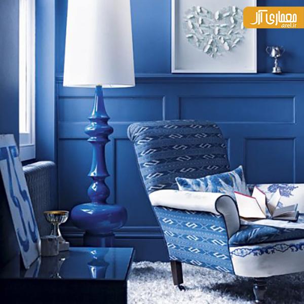 Blue Interior Design Ideas: رنگ شناسی با آرل: آبی های خنک