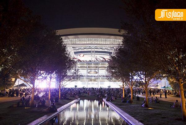 بزرگترین سقف متحرک در استادیوم غول پیکر دالاس کابویزاستادیوم غول پیکر دالاس کابویز