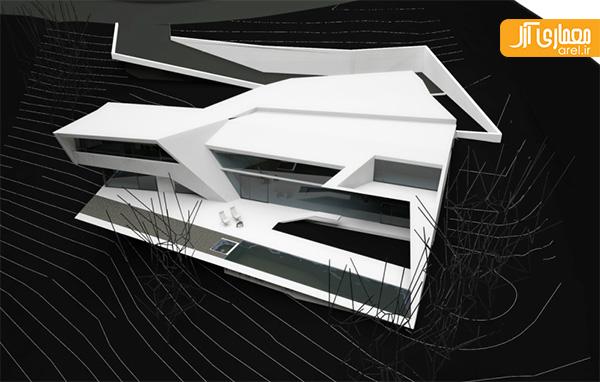 ویلای مینیمال از گروه معماری ارشیا