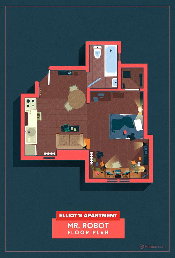 طراحی پلان های معماری سریال تلویزیونی