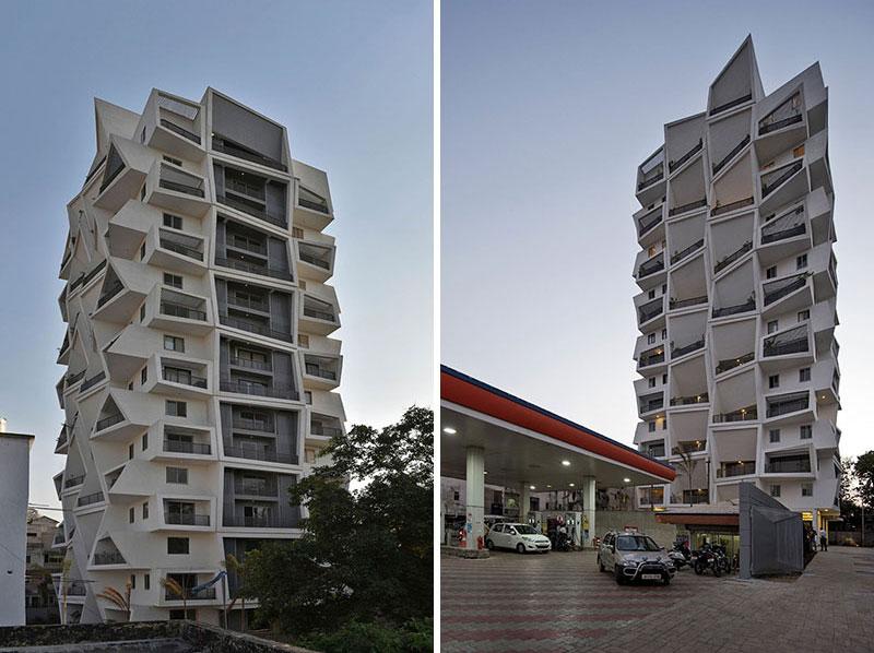 معماری متفاوت آپارتمان