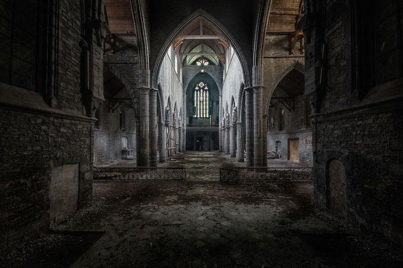 شگفتی معماری در کلیساهای قدیمی