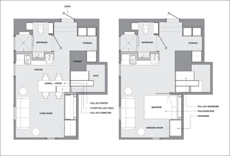 طراحی میکرو آپارتمان