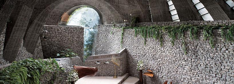 طراحی کلیسای سنگی