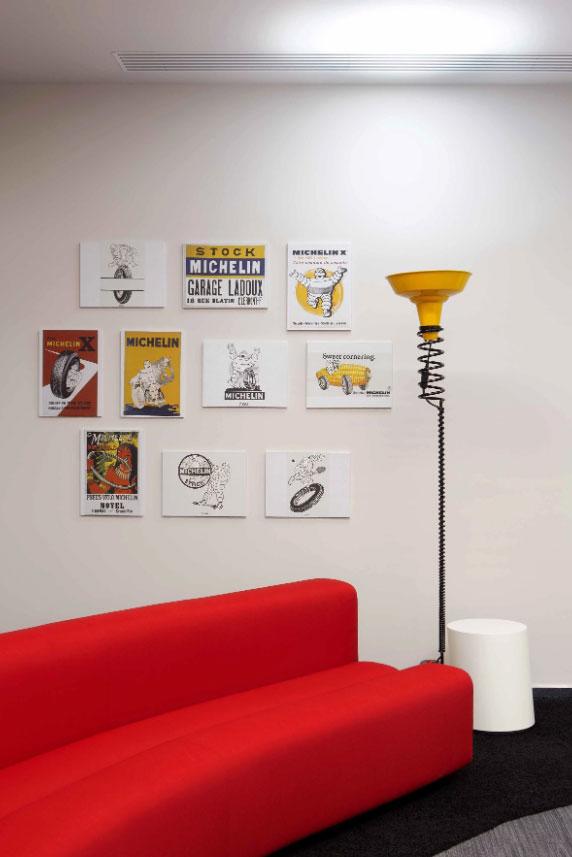 طراحی دفتر لاستیک میلشن