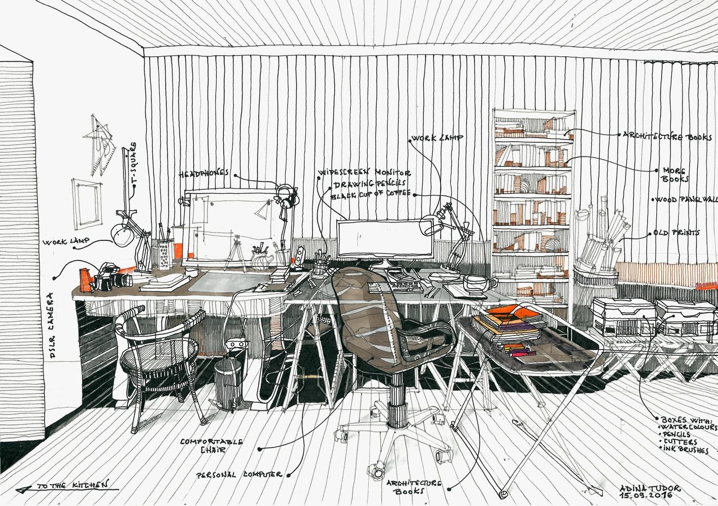 10 تغییر موثر در میز کار معمار که بازدهی کار را افزایش می هد !