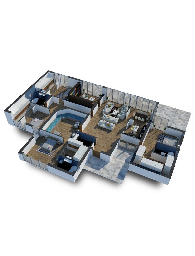 طراحی داخلی با فضای کم