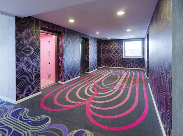 طراحی داخلی هتل از یک طراح صنعتی